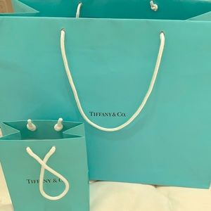 Tiffany gift bags